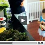 2 ways to turn your kids on to green leafy vegetables:  Kale chips & 'Smoothie, the movie'