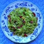 Broccoli bean & pumpkin seed salad