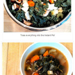 3 Minute 'Dishwasher's Down!' Vegetable Soup (recipe)