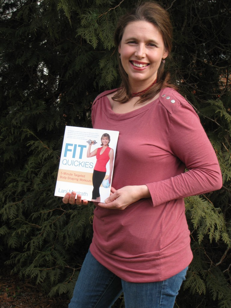 D'Ann Martin -  the first reader tto get a copy of the Fit Quickies book