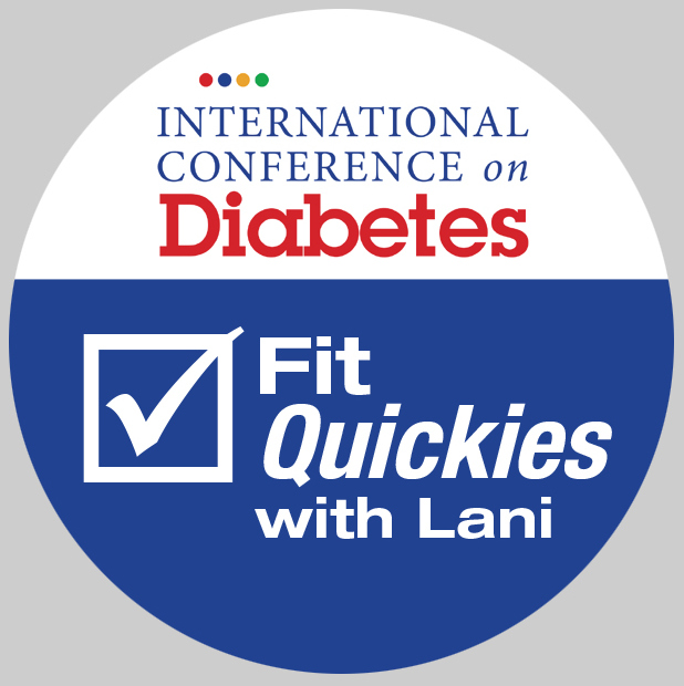 Fit Quickies stickers Diabetes Conference v1