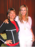 Lani Muelrath and Veganist author Kathy Freston