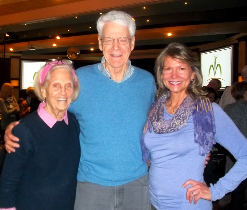 With Anne and Dr. Caldwell Esselstyn at the McDougall Advanced Study Weekend.