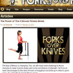 Forks Over Knives called…