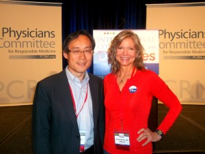 Dr. Frank Hu is on the exclusive committee for the U.S. Dietary Guidelines and was generous with answers to my (many!) questions, which informed the manuscript of my book. Fascinating expert!