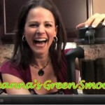 Green smoothie with Plant-Based Dietitian, Julieanna Hever (video!)