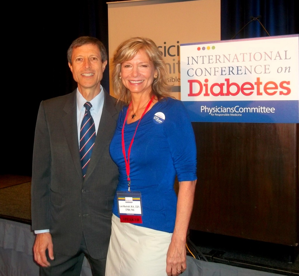 Dr. Neal Barnard invited me to present at this year's International Diabetes Conference in Washington, D.C.