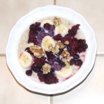 Eat a high fiber, slow-burn breakfast:  Holiday food & fitness survival tip # 6/10