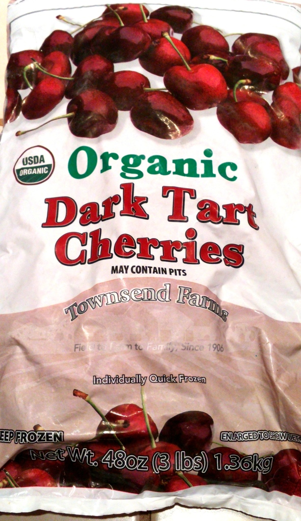 Dark tart cherries work too - I buy them by the bag at Costco or Trader Joe's, where you can find sweet dark cherries in the freezer section.