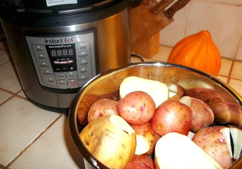 My new kitchen buddy: Instant Pot electric pressure cooker review ...