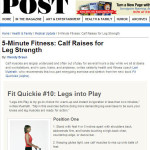 Fit Quickies in The Saturday Evening Post!